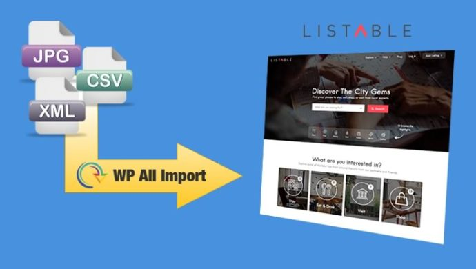 WP All Import add-on for Listable theme
